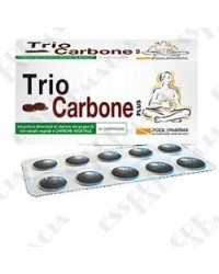 Triocarbone plus 40 compresse 550 mg