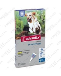 Advantix Spot On 4 Pipette oltre 25 Kg