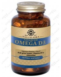 Solgar Advanced Omega D3 120 perle-softgels
