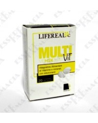 Lifereal C MultiVit 20 cpr effervescenti