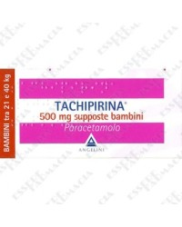 Tachipirina Supposte 500 mg 10 Supposte