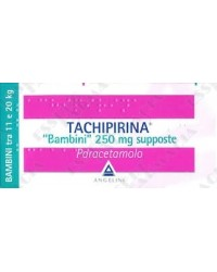Tachipirina Supposte 250 mg 10 Supposte