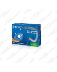 Enterog antidiarroico 12 compresse da 2 mg