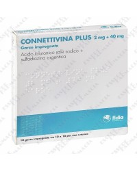 Connettivina Plus 10 garze 10x10 cm