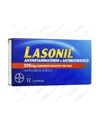 Lasonil 220 mg 12 compresse